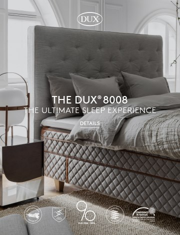 ccdae9e5a0485 DUX  The Best Mattress   Luxury Bed