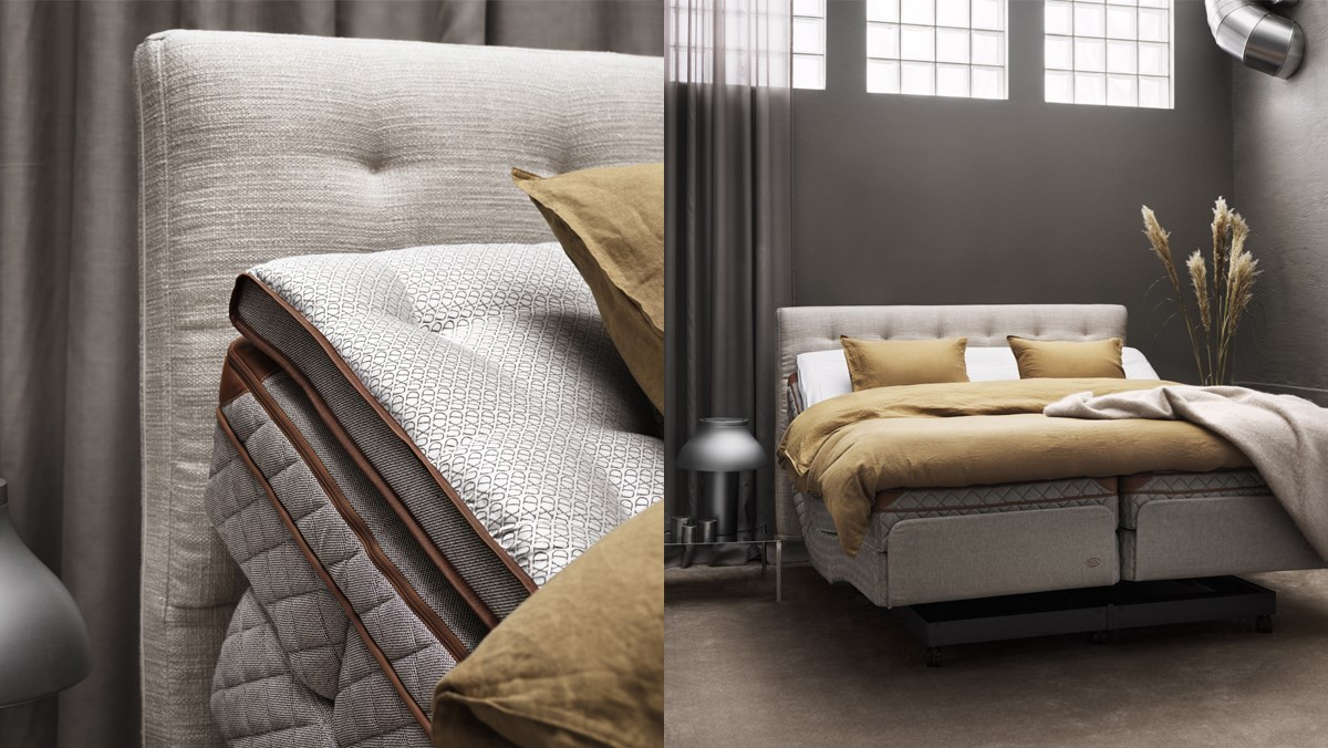 The DUX Dynamic - World's most luxurious adjustable bed