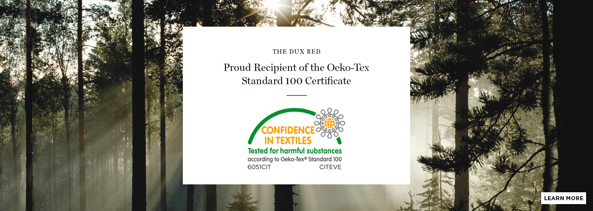 Swedish Forest and Oeko-Tex Certificate