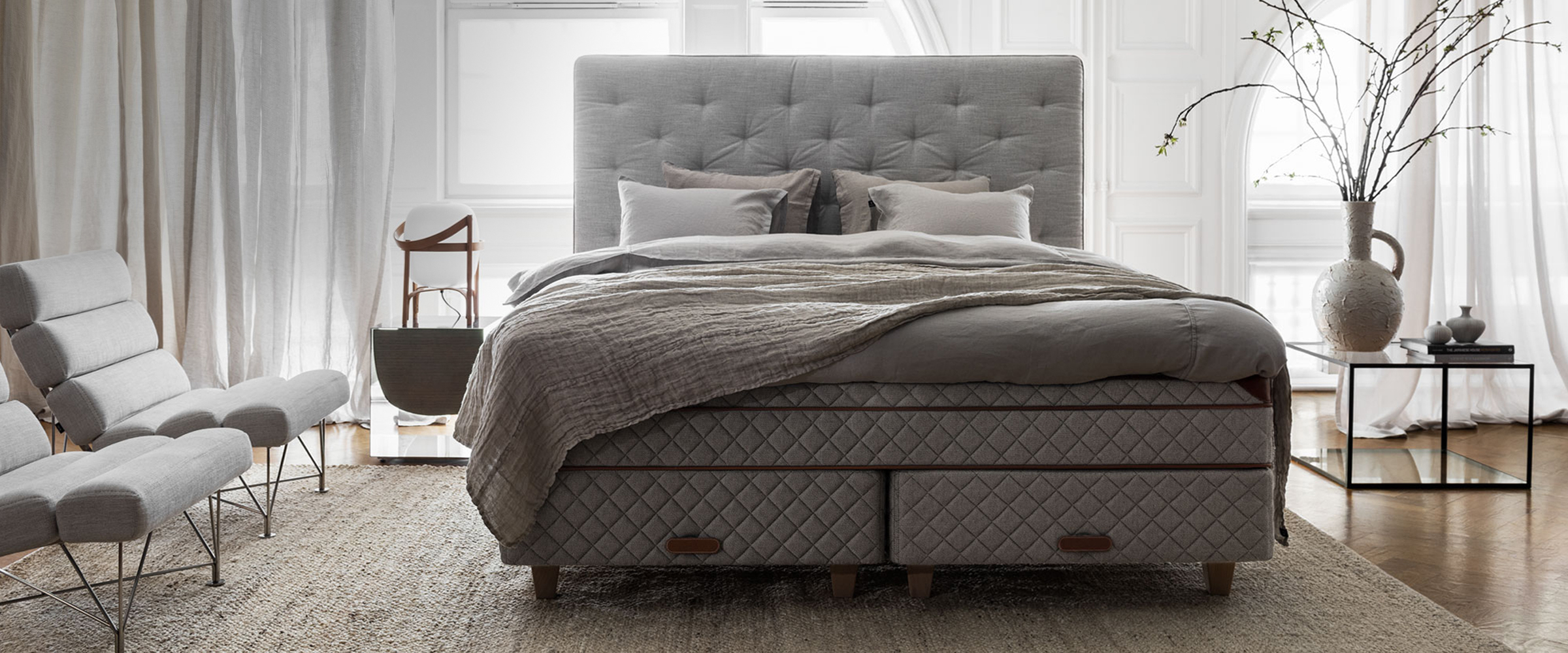 Picture of: Dux Of Sweden The Best Mattress Luxury Bed Only At Duxiana