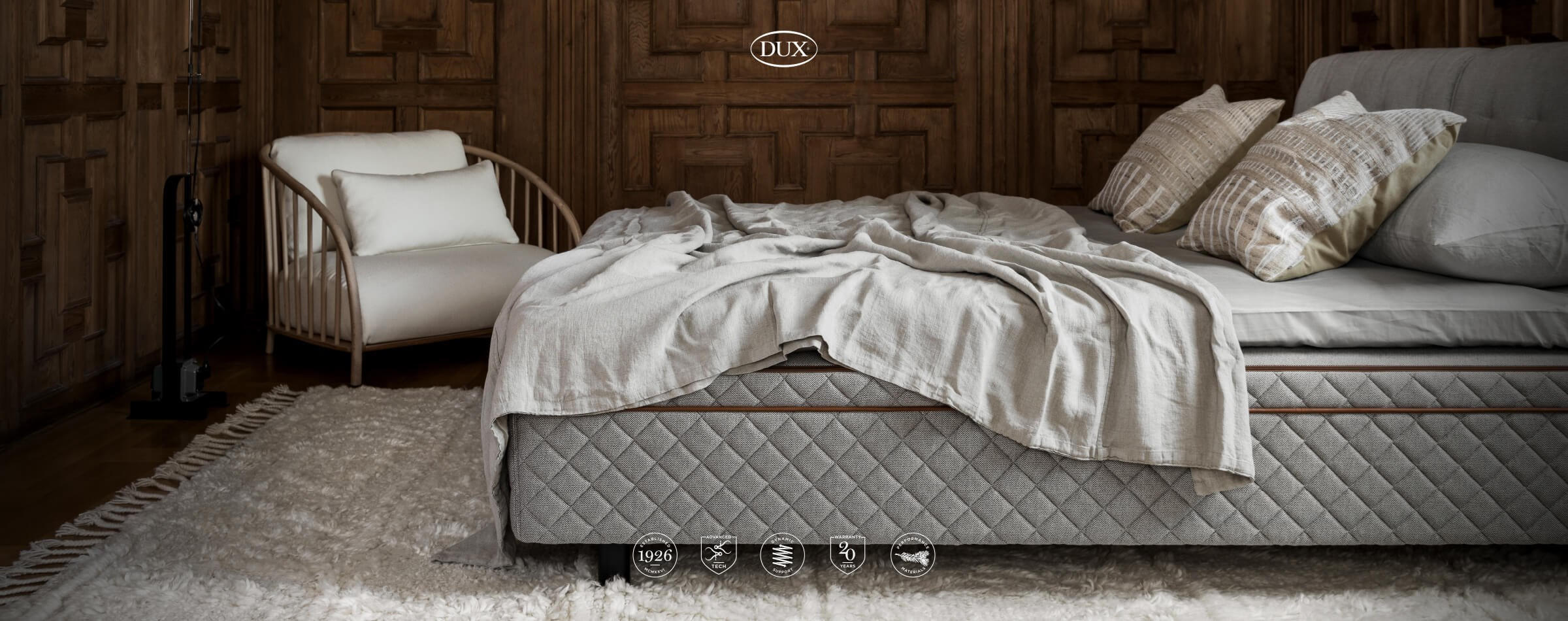 The DUX 3003 - Our most advanced single-base mattress