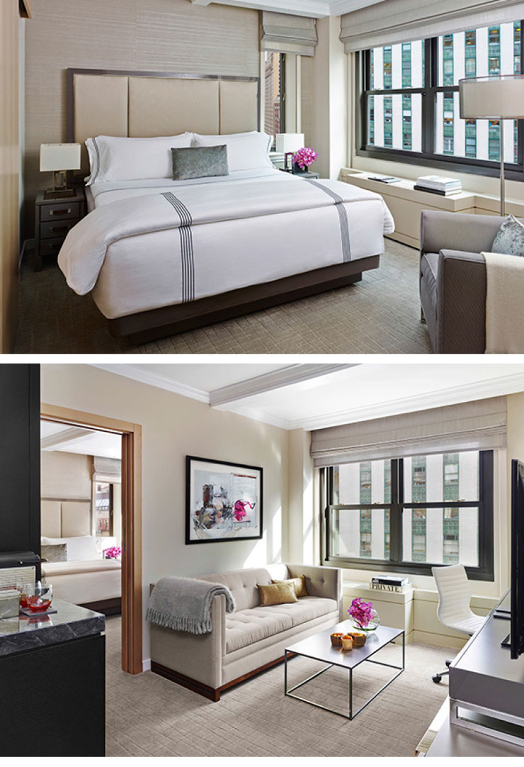 The Quin Hotel images collage