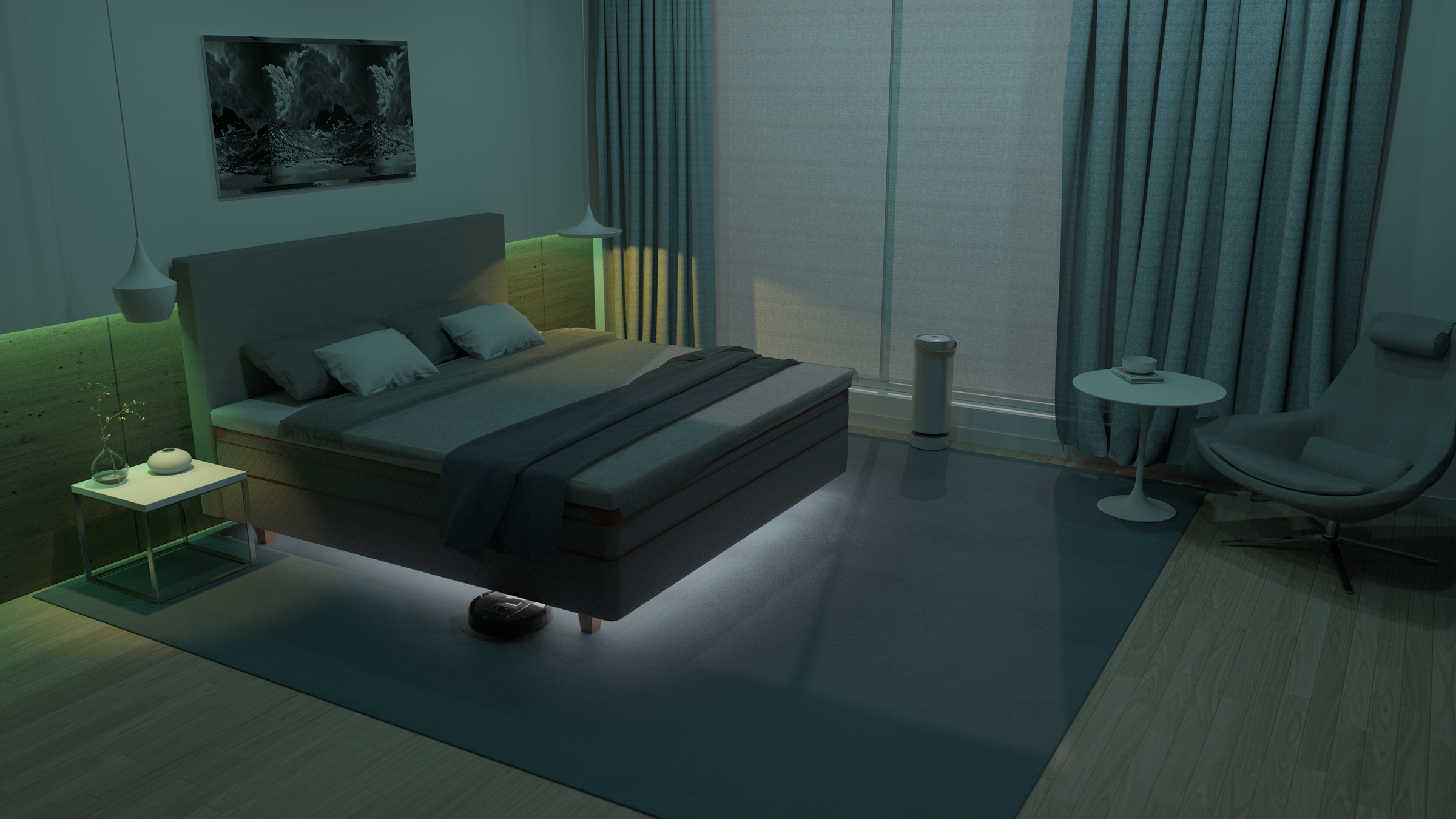 DUX Element Bedroom Model